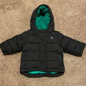 Old Navy baby boy puffer winter jacket